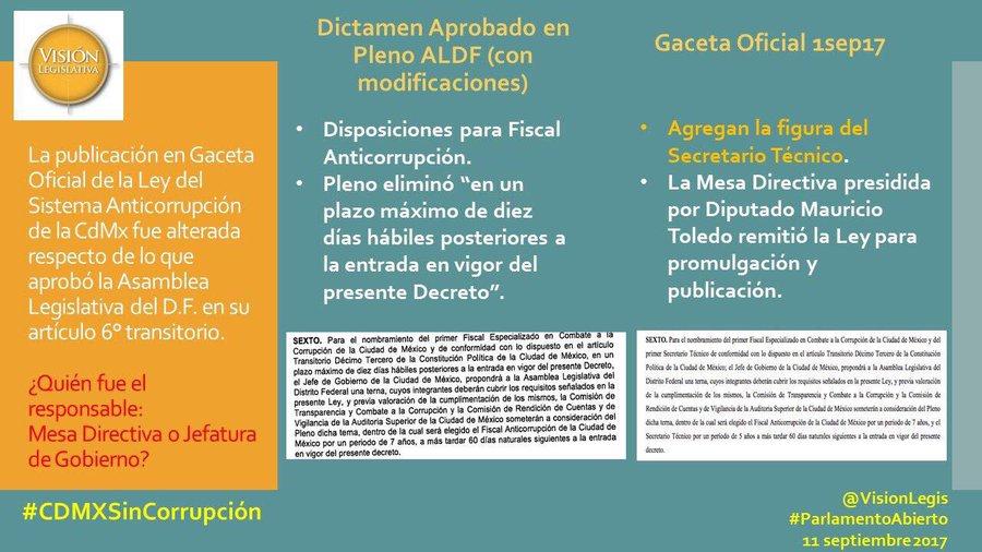 OSCS REITERAMOS DEBILIDADES EN EL SISTEMA LOCAL ANTICORRUPCIÓN APROBADO Y DENUNCIAMOS NUEVAS IRREGULARIDADES