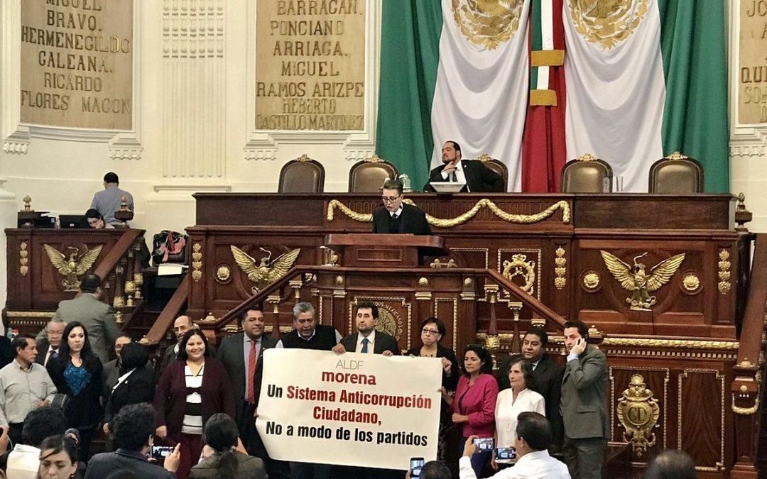 Preocupante legislación a modo, en detrimento de la democracia y la autonomía de la Fiscalía General en la Ciudad de México