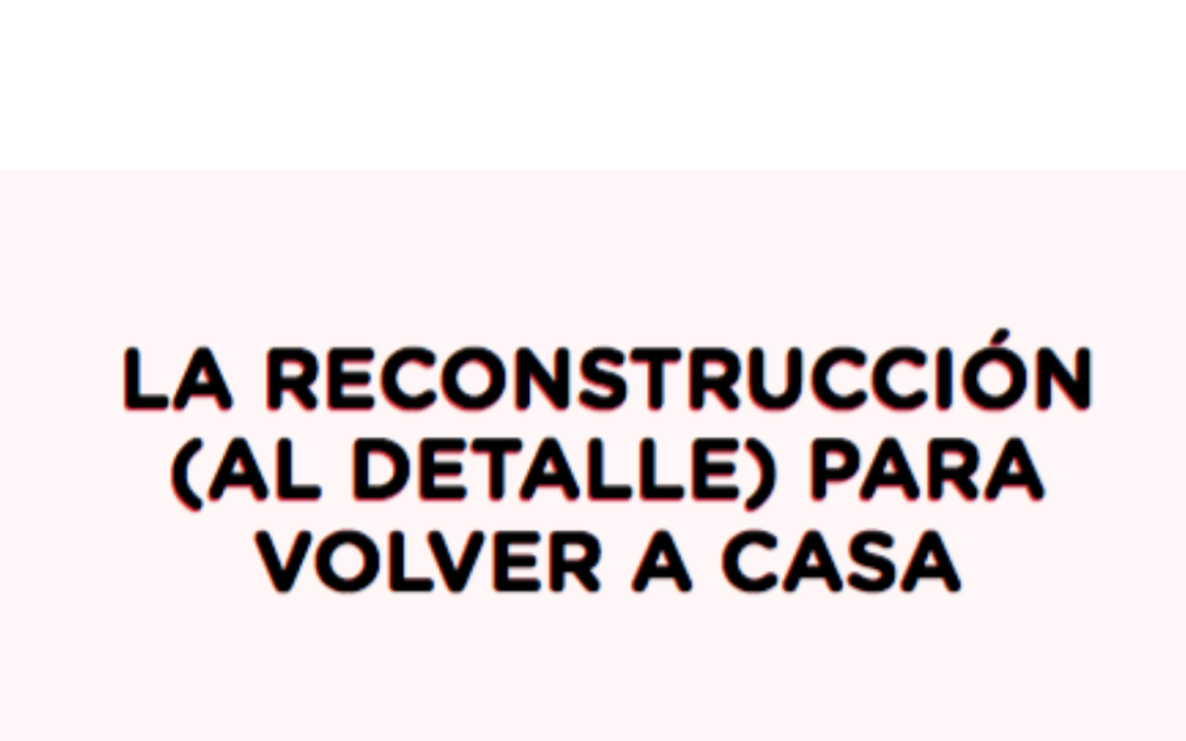 EXPERIENCIA DE LA SOCIEDAD CIVIL PARA LA RECONSTRUCCIÓN