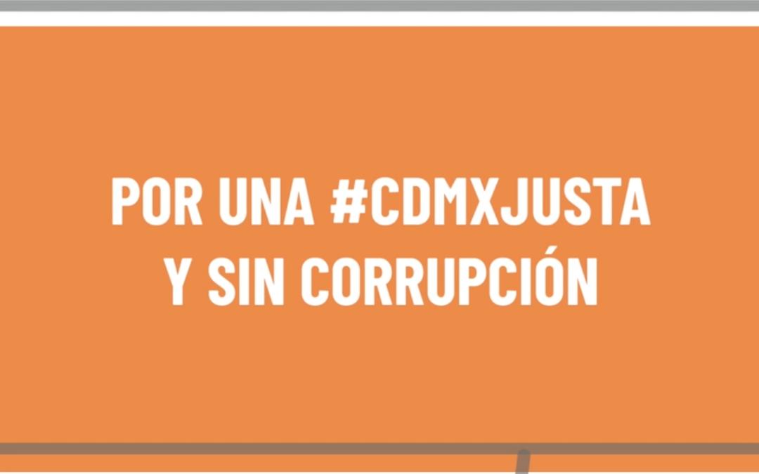 RUTA CÍVICA LLAMA A TOMAR ACCIONES CONTUNDENTES PARA EL EFECTIVO COMBATE Y PREVENCIÓN DE LA CORRUPCIÓN EN LA CIUDAD DE MÉXICO