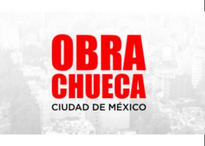 #ObraChueca