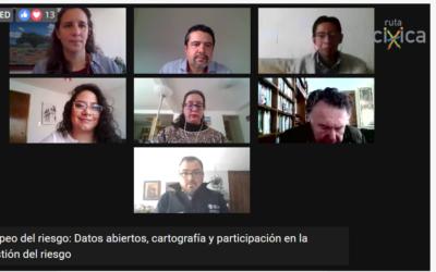 ABRIR Y CONECTAR DATOS ENTRE CIUDADANÍA Y GOBIERNOS: ENFRENTAR CON CONCIENCIA EL RIESGO