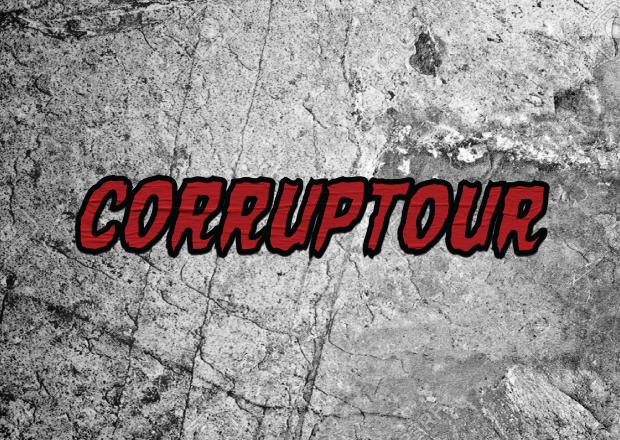 #Corruptour